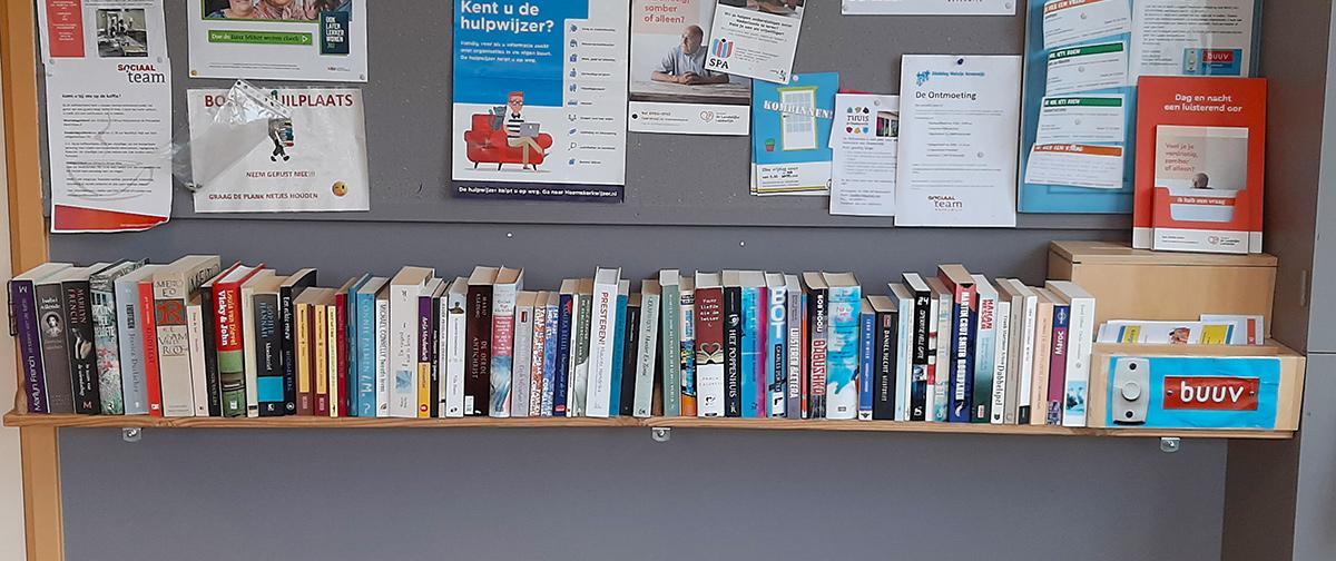 De Stut - boekenplank